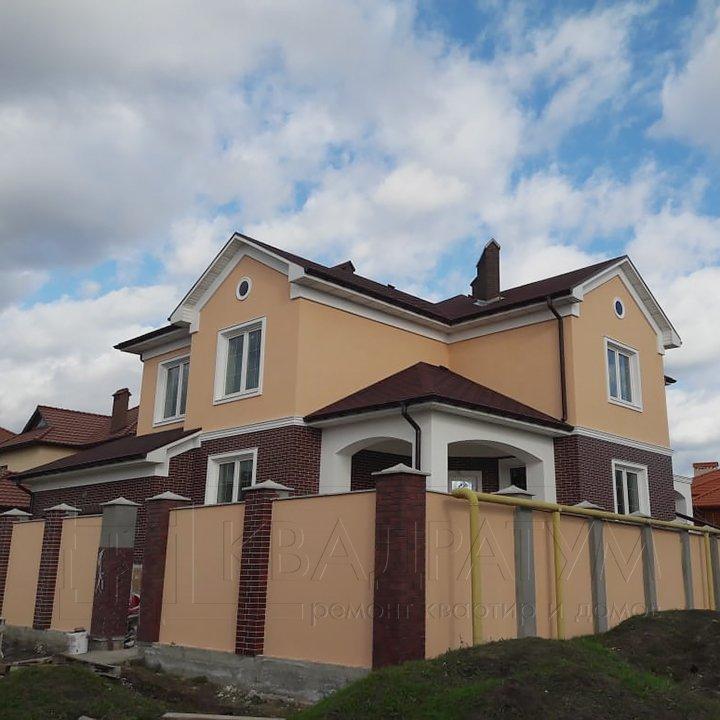 Ремонт дома в Совиньоне Общий вид