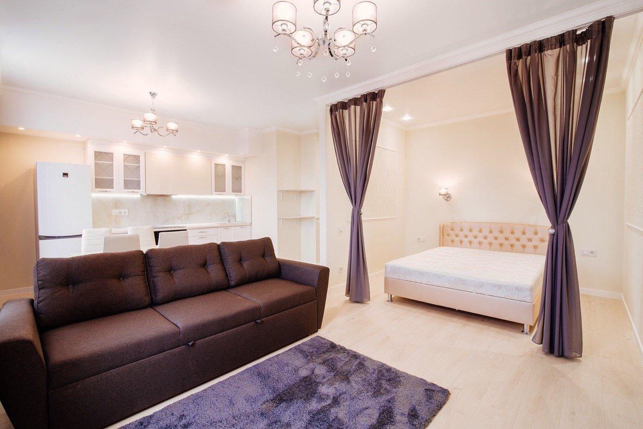 Завершенный дизайнерский ремонта двухкомнатной квартиры 31-я Жемчужина Одесса