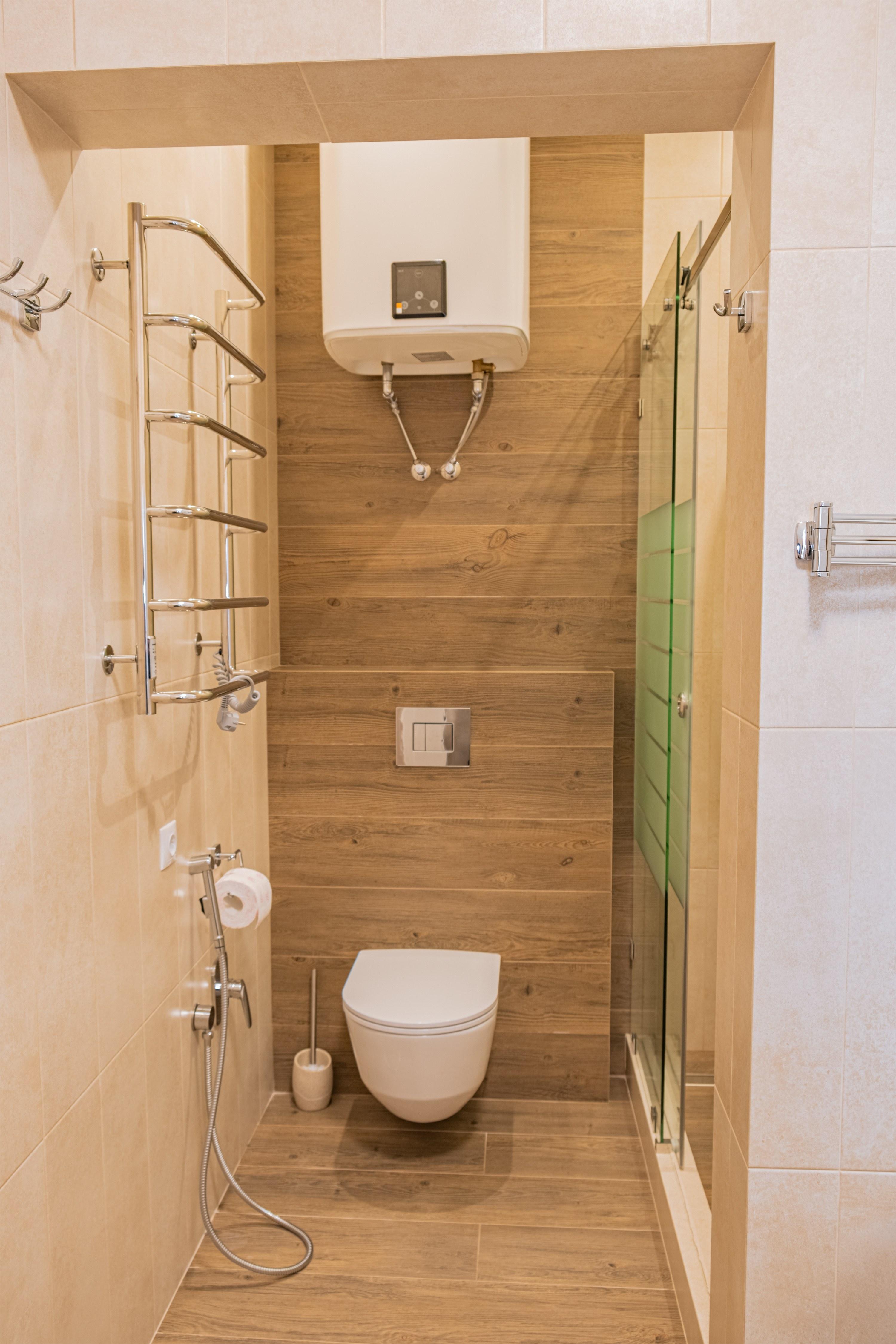 Ремонт туалета в ЖК Гагаринский Стикон