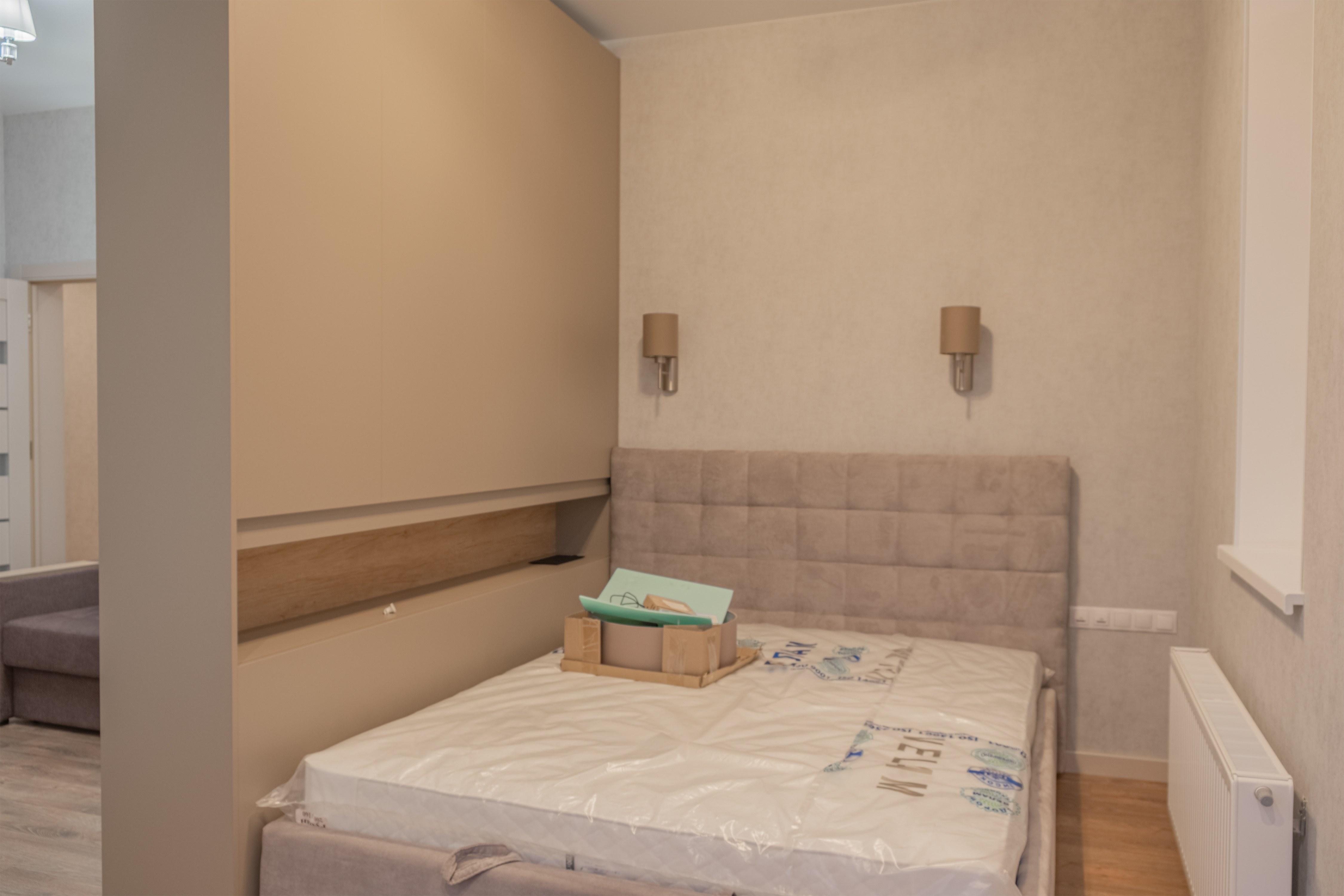 Ремонт спальни в ЖК Гагаринский Стикон