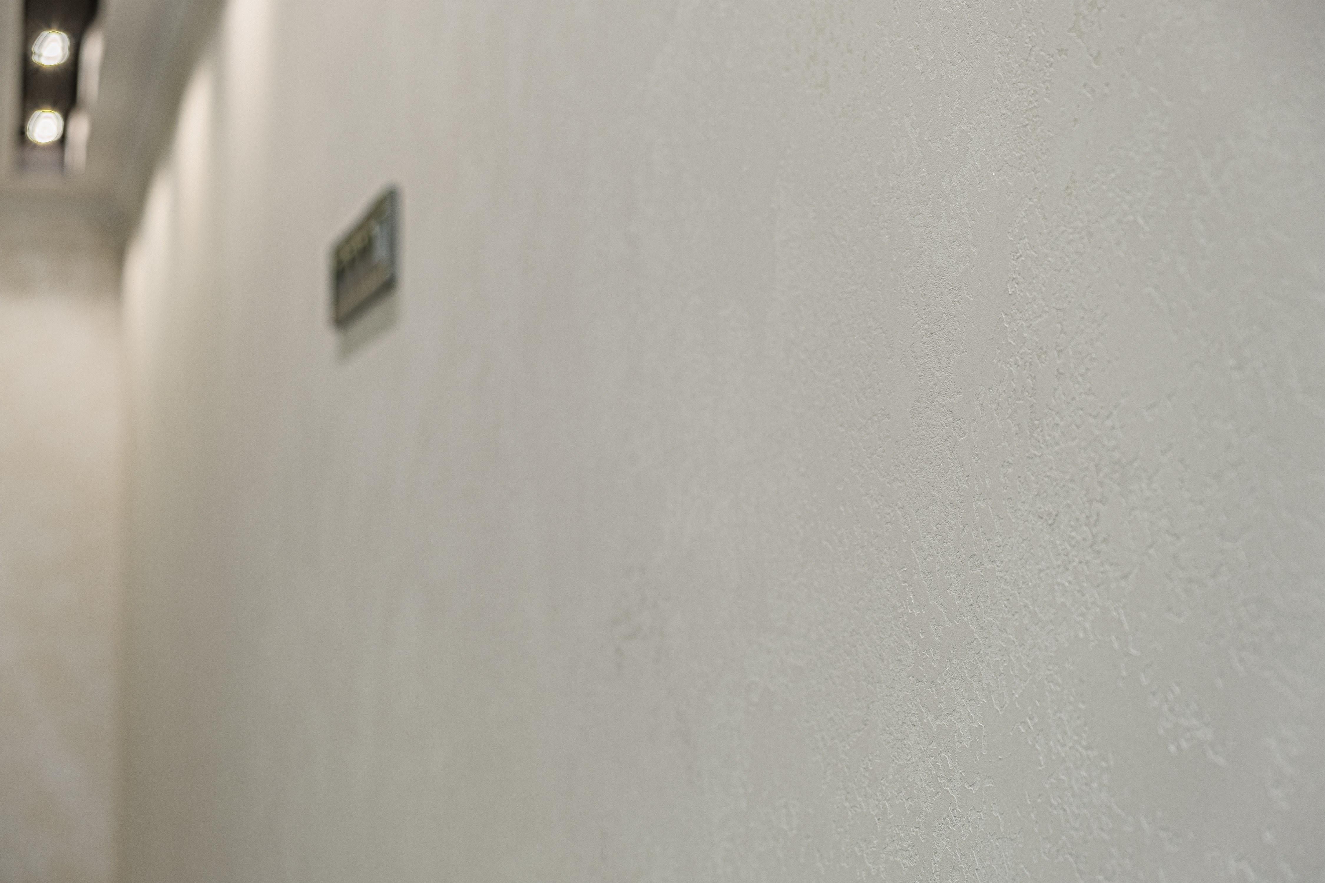 Декоративная штукатурка стены в 29-й Жемчужине
