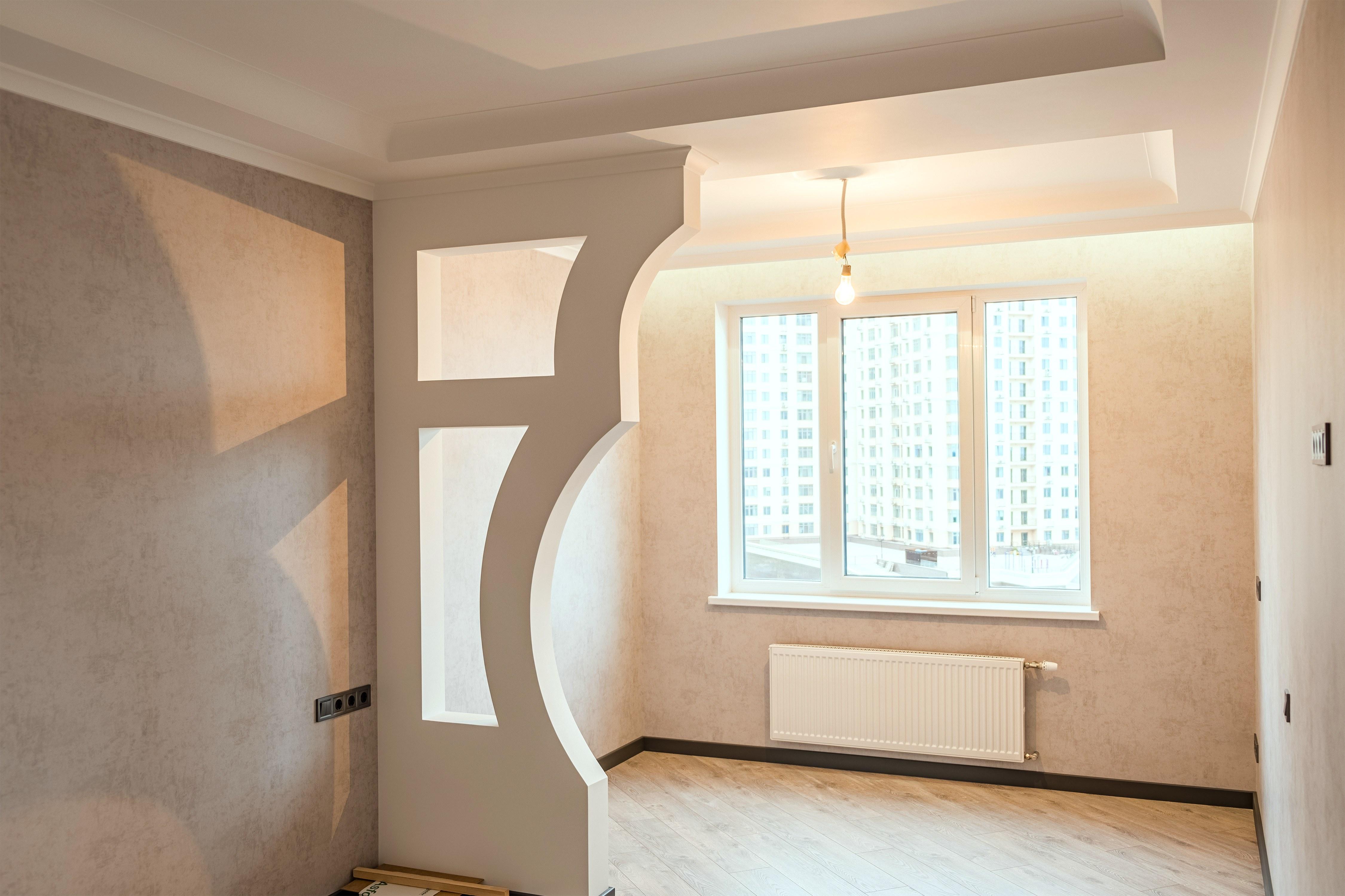 Дизайнерский декор после ремонта спальни в 29 Жемчужине