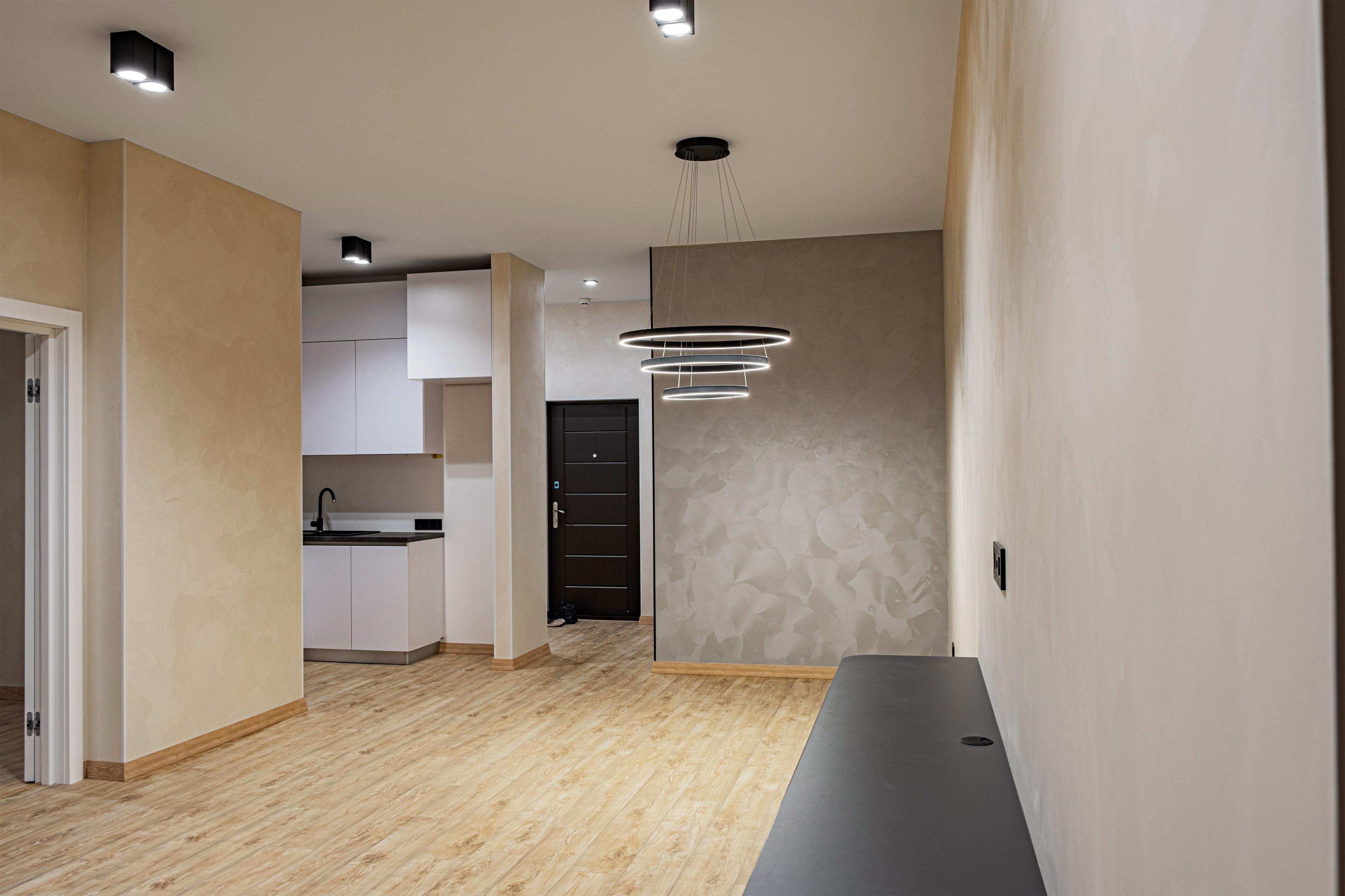 Фото ремонта квартиры на Французском бульваре в Одессе