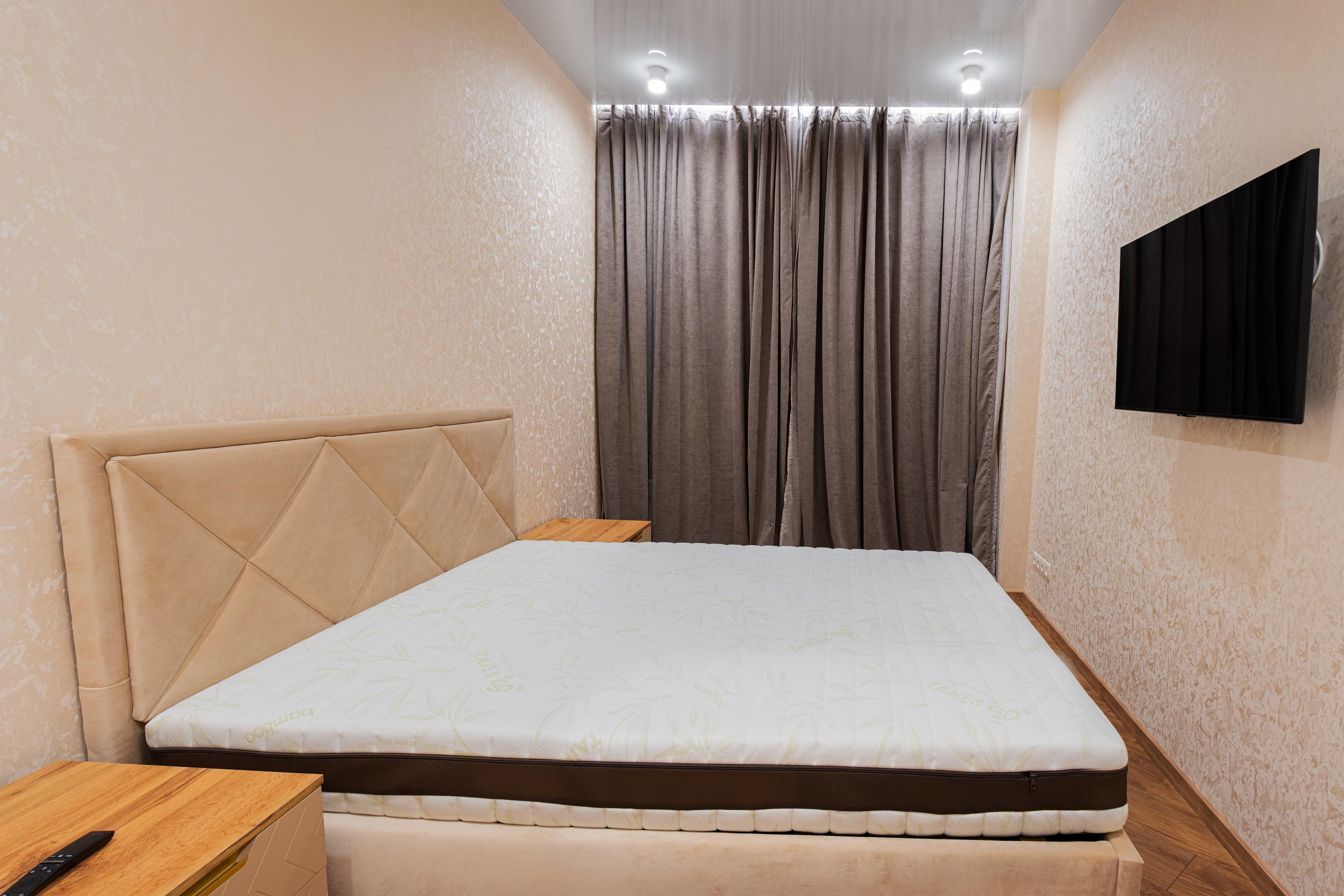 Спальная комната после ремонта в ЖК 40 Жемчужина