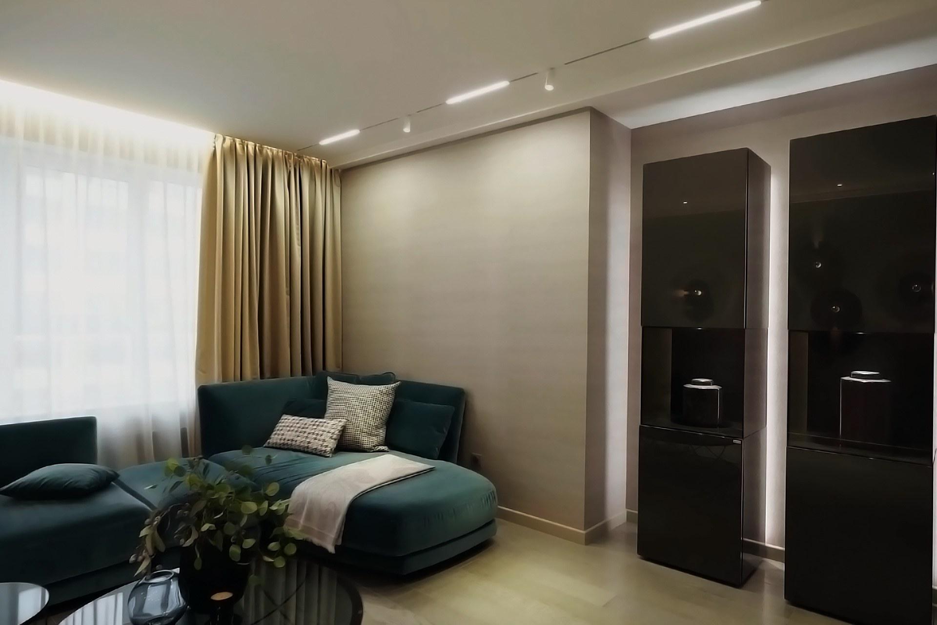 Трендовый коридор гостиной 2021