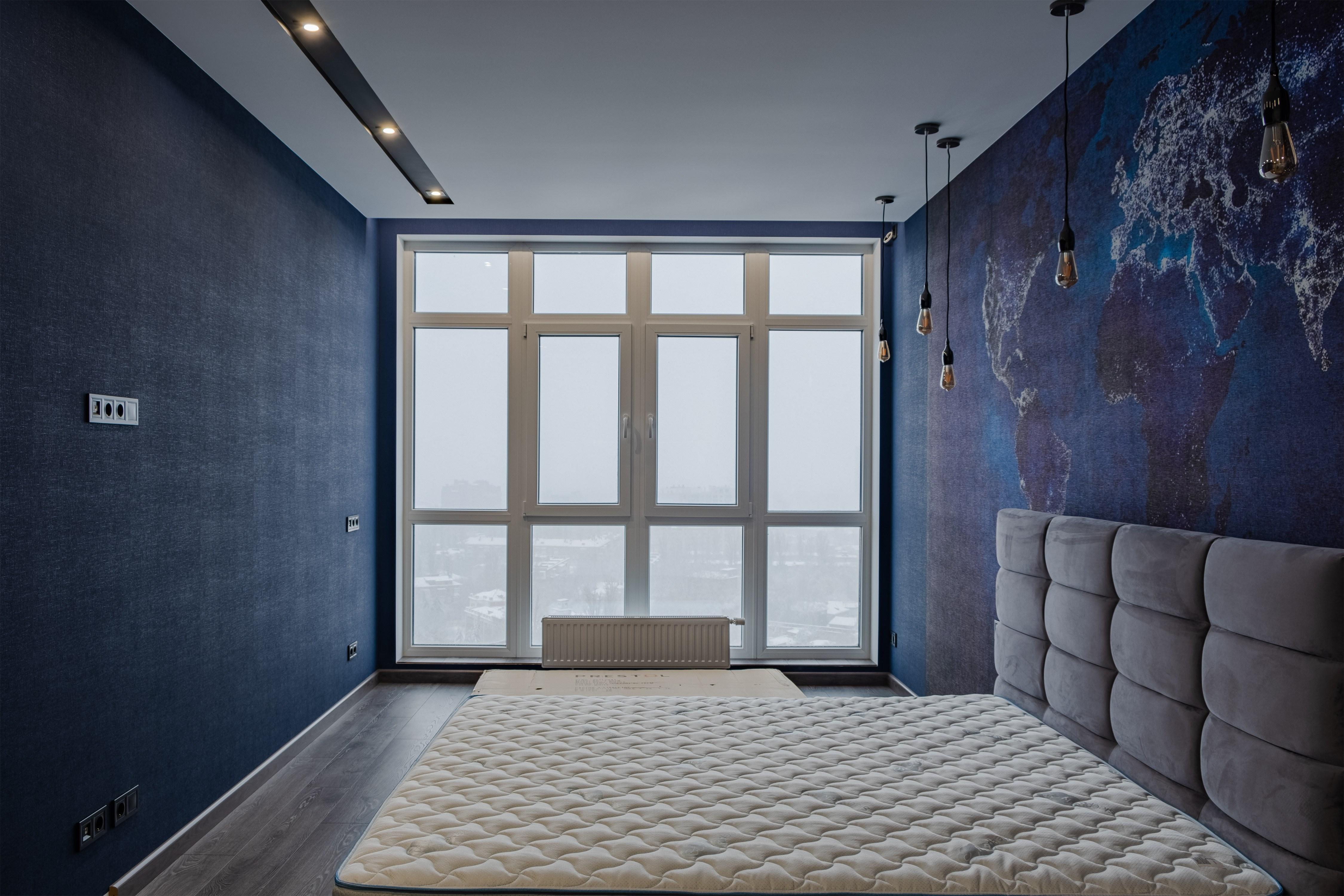 Спальня с видом на Одессу