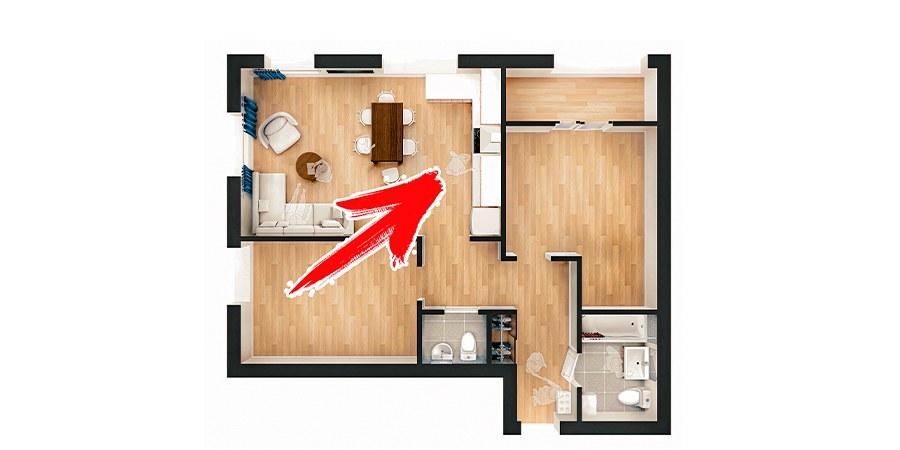 Перенос кухни в комнату: обзор разрешенных и запрещенных действий