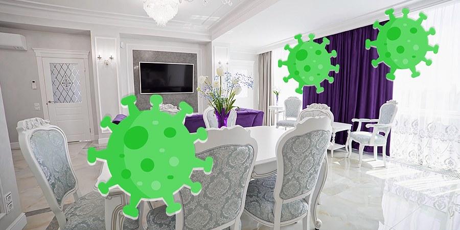 Изменения интерьера из за пандемии короновируса