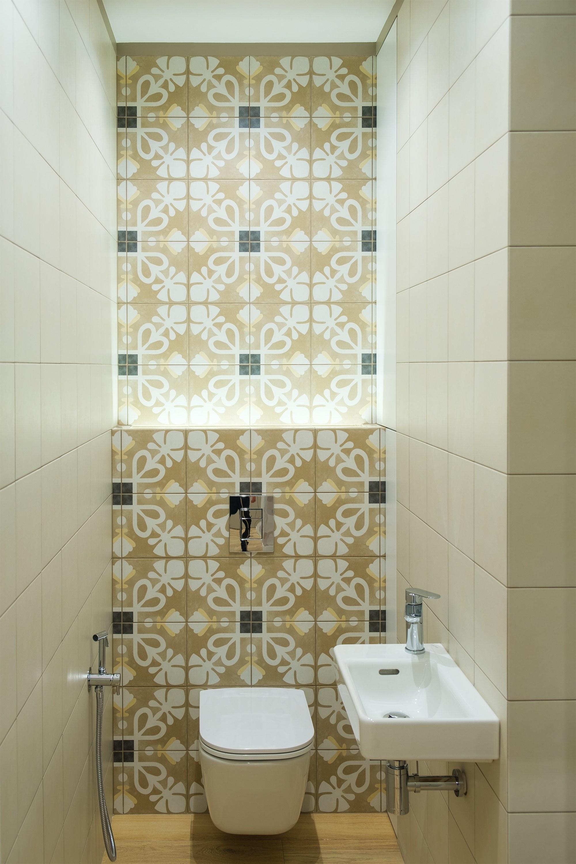 Туалетная комната после ремонта в Одессе